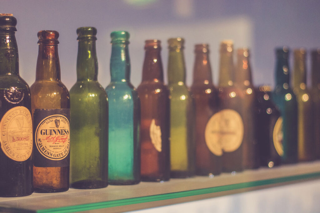 Breweriana Collection Bottles