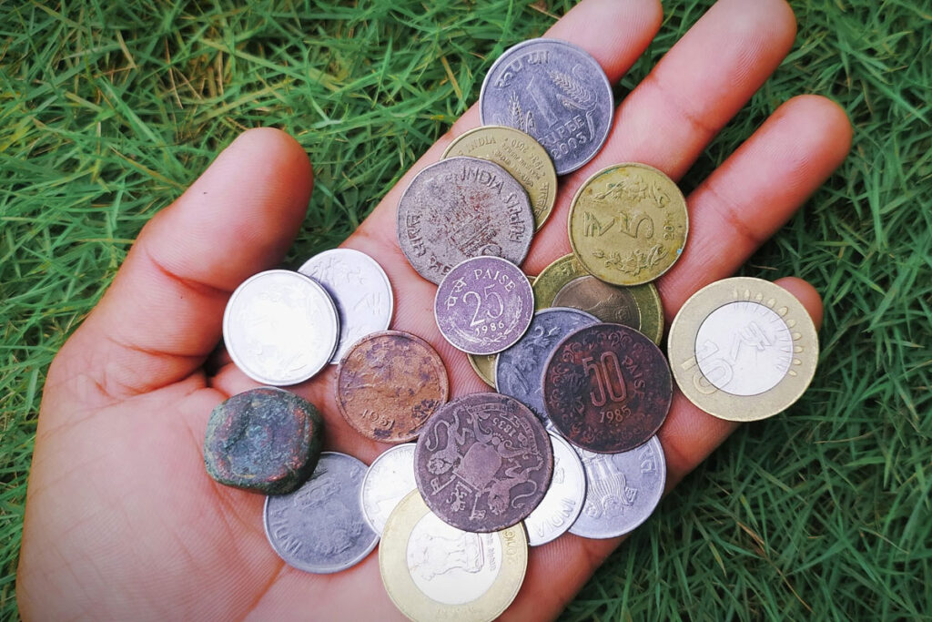 Coin Collection Handling