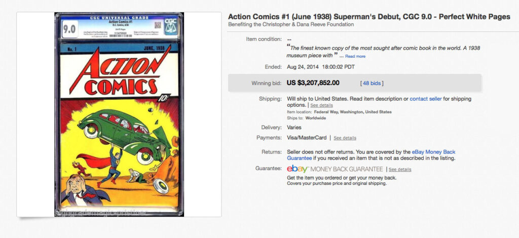 Most Expensive Comic Book