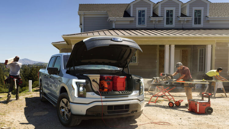 Electric Vehicles - Ford F150 Lightning